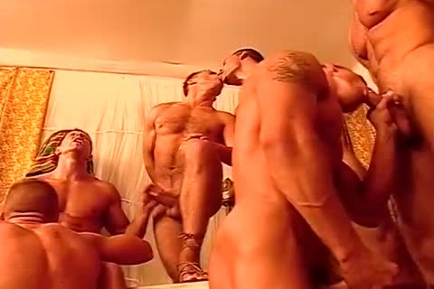 homo men pound One one greater quantity In A lascivious fuckfest