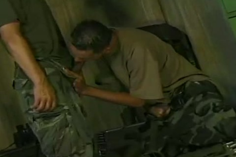 Ricki Torres And Eddie Gomez engulf And hammer In Military Romp