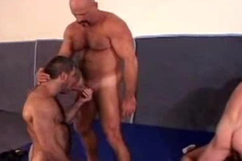 hairy Muscle Dads orgy
