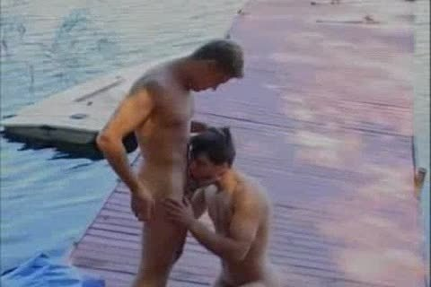 delicious men On The Dock