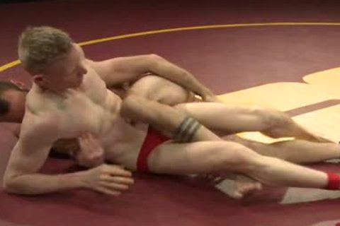 homo twinks Wrestling And nailing After Match