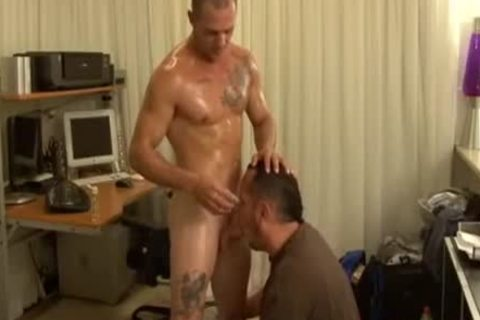 Tattooed Sportsman acquires excited