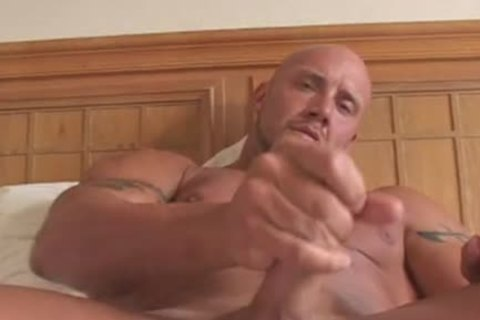 Bald Large filthy good Bodybuilder