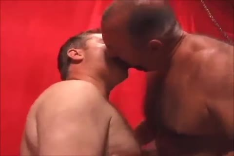 Two yummy Daddies pounding