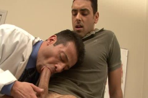 excited Doctor acquires Nailed By His homo Patient At Work