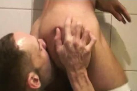 Insatiable Bottom Alejandro Alvarez Is Back For one greater quantity pooper hammering, This Time By The Curved knob Of Top-boy Joe Bexter.