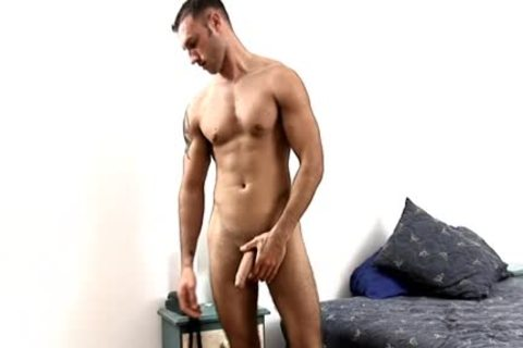 Latino Ex Marine Jacks ramrod In Hotel
