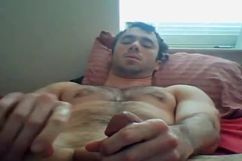 handsome Fit lad stroking And Chatting