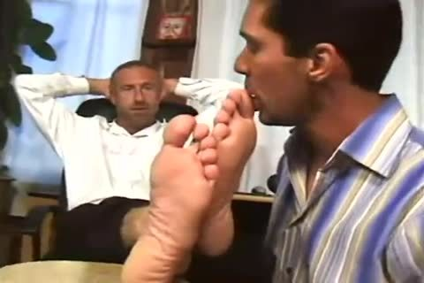 Worship Angry Boss enormous Feet