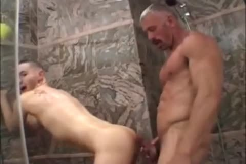 Muscled Not daddy pokes Raunchy lad