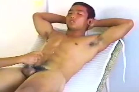 straight asian dick Milked
