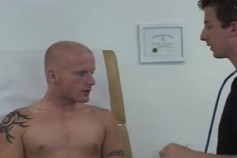 clip Of homo in nature's garb fellows Doctors And adorable Muscle Male Doctor