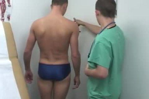 Doctor wank Tube And lad acquires A Medical Examination homo Snapchat His