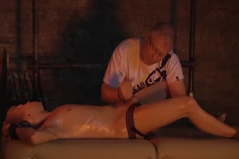 Smooth Chris gets An Incredible handjob From The taskmaster