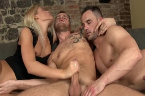 bisexual chap Gives oral sex stimulation