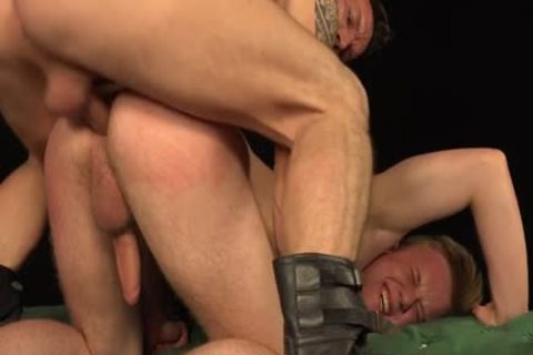 Tattoo homosexuals spanking With goo flow
