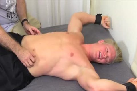 sexy And blond guy Named Seamus gets Tickled Hard