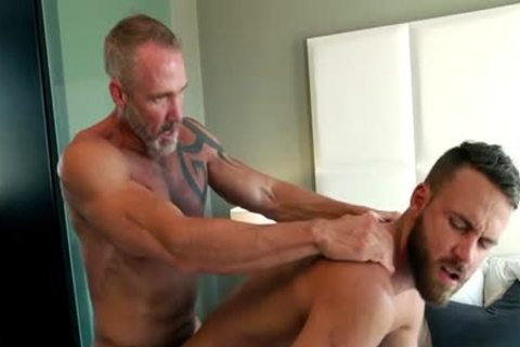 Muscle homosexual males ass nail And ejaculation