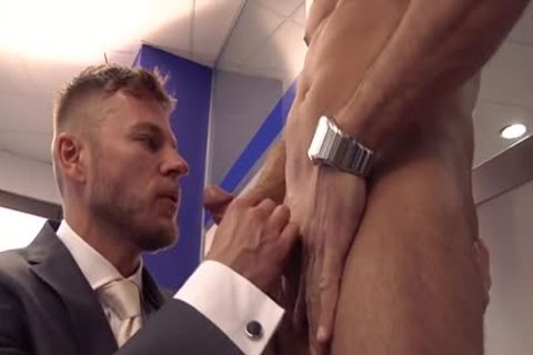 Muscle gay anal sex With semen flow