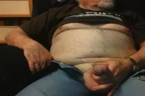 older man spooge On web camera