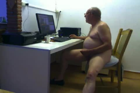 daddy man sperm On web camera