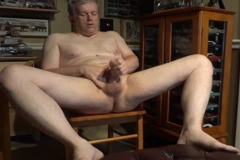 naked 60 Year daddy Daddy Masturbating