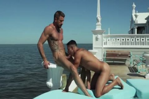 Tattoo gay butthole sex And cumshot