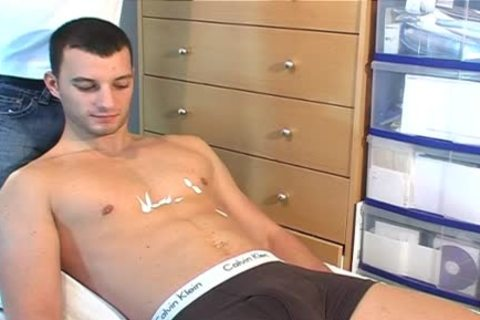 Real Straight lad Serviced In Spite Of Him ! (Romain)