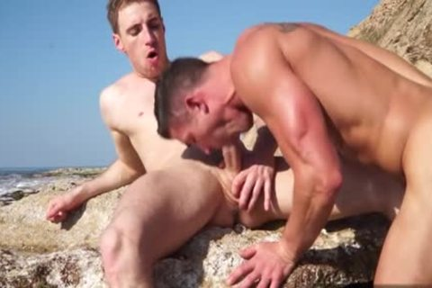 Muscle homosexual butthole job And cumshot