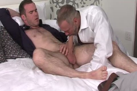 Silver Fox Dallas Steele And Clean Cut jock Matthew Bosch sperm jointly