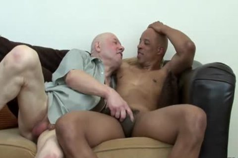 Daddy acquires fucked By dark Hunk