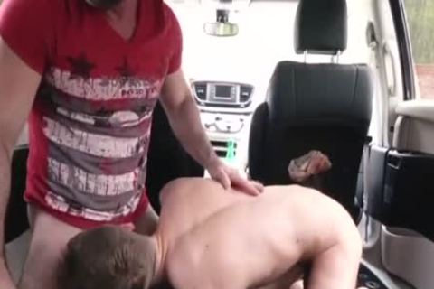 attractive daddy nails His Step Son In A Car - FAMI