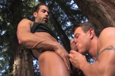 enormous penis homo Outdoor Sex With ejaculation