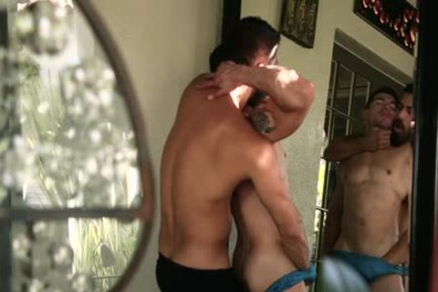 humongous penis homo anal sex And semen flow