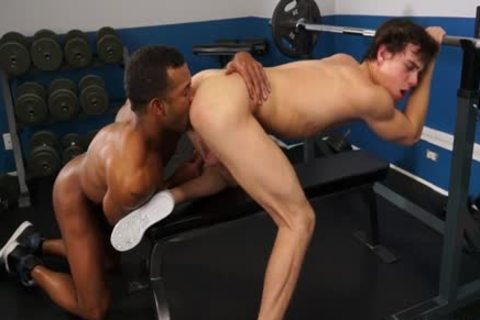 Muscle homosexual Interracial And ejaculation