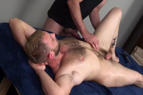 7a bushy Muscle Massage With ass-plug