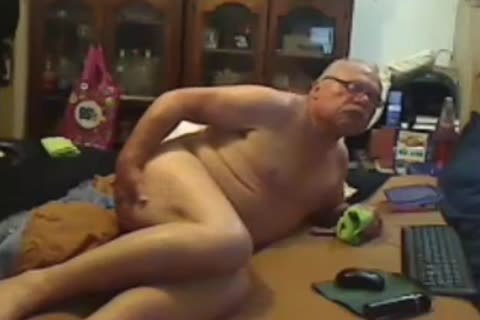 older man sperm On webcam