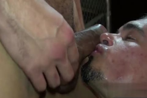 Tattoo homosexual bare And cumshot