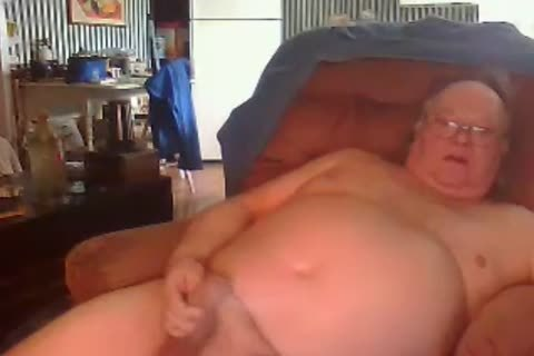 grand-dad engulf And wank On cam
