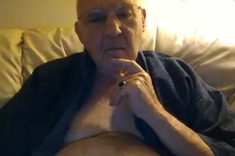 daddy man stroke On web camera
