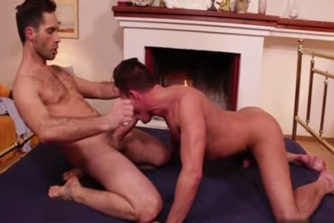 gigantic ramrod Bottom anal job And cumshot
