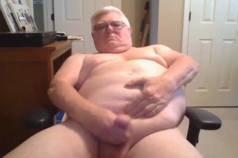 grandpa jerk off On webcam