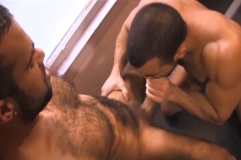 hairy Hunks Giving blowjob
