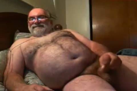 grandpa Jim cum On web camera