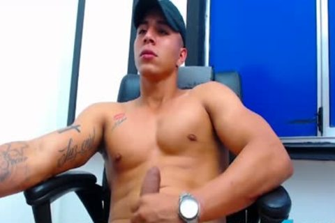 Felipe Borja On Flirt4Free twinks - Latino man's Monster dick discharges A Loads