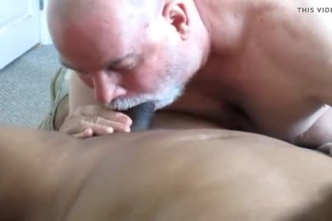 Flowing Nutt From A large Dicked black Daddy.