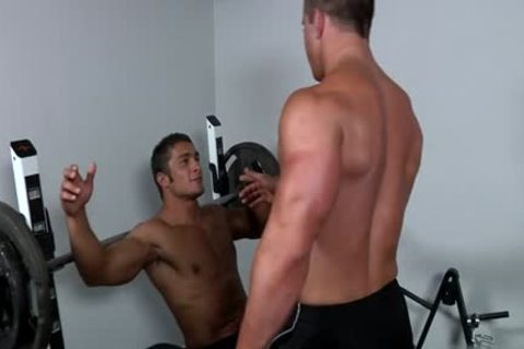 Muscle homosexual oral stimulation-service And ejaculation