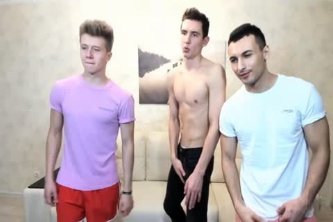 3 Russian fashionable twinks With Great Round asses,wonderful cocks On cam