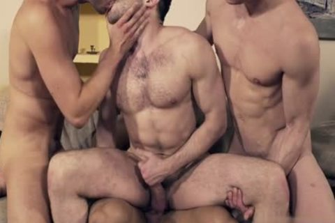 filthy gay double penetration And Facial