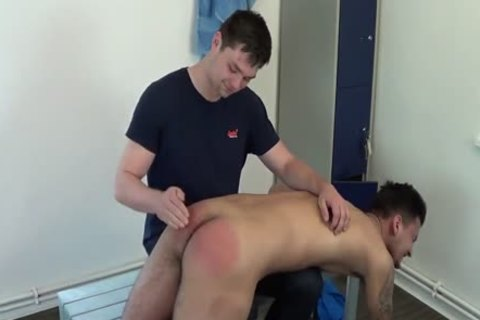 Rugby Player Spanked